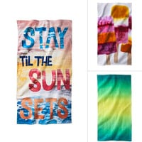 On Target: Be Sunwashed With Trendy Beach Towels