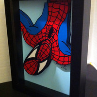 Spiderman Comic Art 3D Pop Art Superhero Comic Book Movie Marvel Artwork