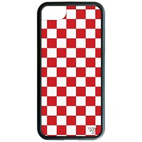 Checkers iPhone SE/6/7/8 Case | Red