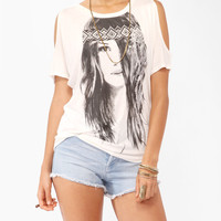 Bohemian Girl Graphic Top   FOREVER21 - 2000046772