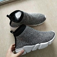 Crystal Sneakers - Speed Trainers - Crystal Speeds - Rhinestone Sneakers - Women Sneakers