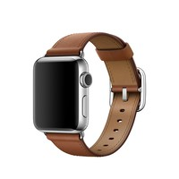 38mm Saddle Brown Classic Buckle