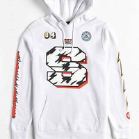 Stussy Block S Logo Hooded Sweatshirt