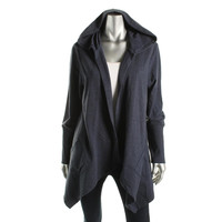 Style & Co. Womens Knit Hooded Cardigan Sweater