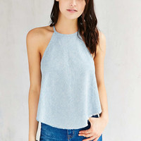 BDG Railroad Striped High-Neck Tank Top - Urban Outfitters