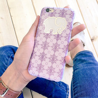 Lavender Evil Eye Phone Case