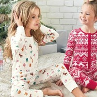 Buy Ecru Christmas Printed All-In-One (3-16yrs) from the Next UK online shop