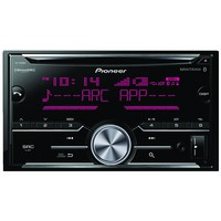 Pioneer Double-din In-dash Cd Receiver With Bluetooth & Siriusxm Ready