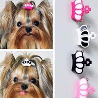 Crown Hair Clips for Dogs - 2 Pcs