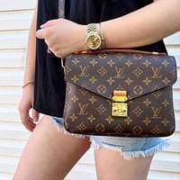 LV Louis Vuitton Pochette Metis messenger bag handbag shoulder bag