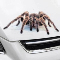 3D Car Sticker Simulation Animals Bumper Retrofit Stickers for Spider Gecko Scorpions