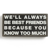 Primitives by Kathy 'Best Friends' Box Sign | Nordstrom