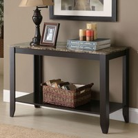Monarch Console Table (Brown)