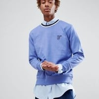 Lee Peace Logo Sweatshirt at asos.com