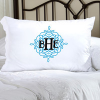 Felicity Wistful Monogram Pillow Case - WM 5