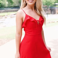 Sweet Thing Mini Dress, Red