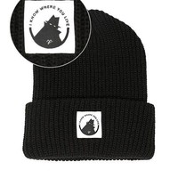 Neighborhood Watch Beanie - Black