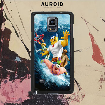 The Spongebob Movie Sponge Out Of Water- Samsung Galaxy Note 4 Case Auroid