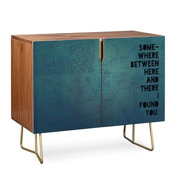 Leah Flores Here And There Two Credenza