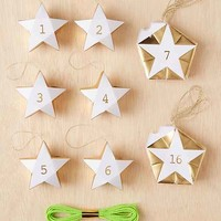 Meri Meri Star Holiday Countdown Calendar