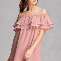 Reverse Off-the-Shoulder Dress