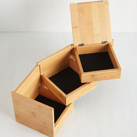 Minimal More in Store Jewelry Box by ModCloth