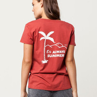AMUSE SOCIETY Someday Womens Tee