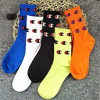 VANS CHAMPION Popular Men Skateboard Personality Sport Cotton Socks