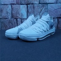 Nike Zoom KD 10 Kevin Durant White/Silver Sneaker