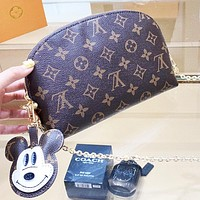 LV Louis Vuitton Popular Women Shopping Bag Leather Mini Crossbody Satchel Shoulder Bag