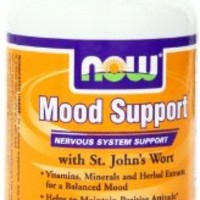 Now Foods Mood Support With St Johns Wort Veg-capsules, 90-Count