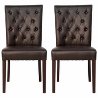 Drew Dining Chair, Pair, Side Chairs