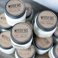 Pick 3 Mason Jar Wood Wick Soy Candle