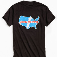 Jimmy Eat World Across America Tee | Urban Outfitters
