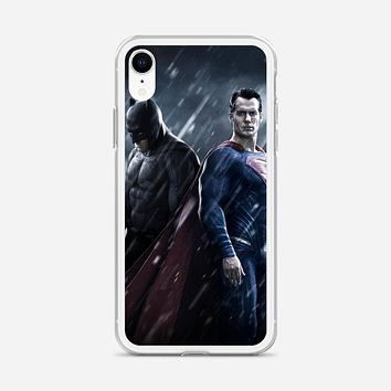 Superman Movies Red Simple iPhone XR Case