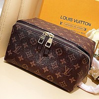 LV Louis Vuitton New fashion monogram leather shoulder bag women cosmetic bag