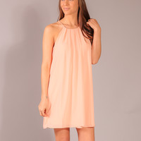 Stay With Me Dress  - Blush