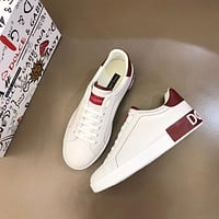 Dolce&Gabban**2021 Men Fashion Boots fashionable Casual leather Breathable Sneakers Running Shoes06270cx