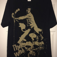 Sale!! Vintage THE WHO Casual T shirt retro band tee