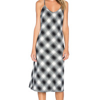 Only Hearts Frankie Bias Slip Gown in Plaid