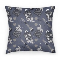 Doctor Who Pattern Pillow