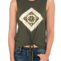 ELEPHANT GRAPHIC TOP - PROMO 50% OFF