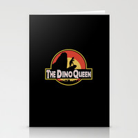 The Dino Queen Stationery Cards by Page394