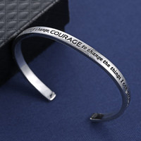 God Grant Me the Serenity to Accept...Bracelet