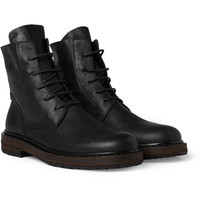 Ann DemeulemeesterLace-Up Leather Boots|MR PORTER