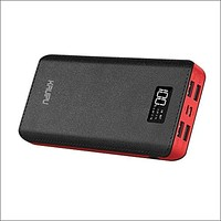 Power Bank 24000mAh Portable Charger Battery Pack 4 Output Ports