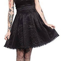 Sourpuss Black Stripe Party Princess Dress
