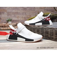 Supreme x Pharrell Williams x HU NMD White Shoes Size 36-45
