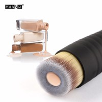 MAANGE 1Pcs Foundation Makeup Brush Pro BB CC Cream Liquid Power Cosmetic Beauty Essential Angle Flat Top Make Up Brush Tool