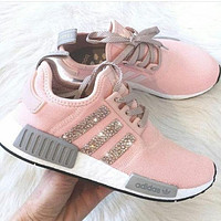"""Adidas"" NMD Boost Women Fashion Leisure Running Sports Shoes"